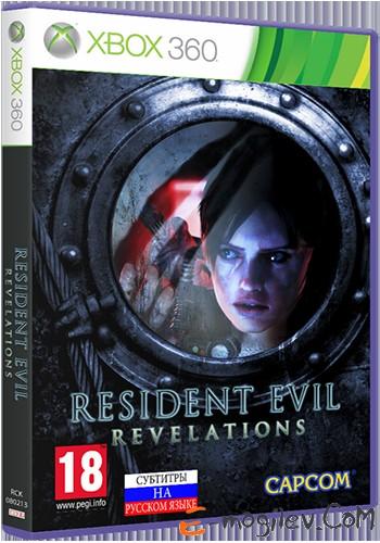 Xbox360 Microsoft Resident Evil: Revelations [русские субтитры]