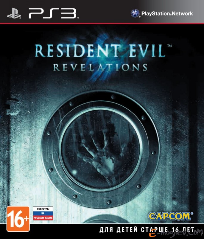 PS3 Resident Evil: Revelations [PS3, русские субтитры]