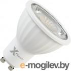 Flash XF-MR16-P-GU10-8W-3000K-220V, 8Вт, теплый свет 3000К, 680лм, 220В (47253)