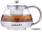 GALAXY GL 9351 0,75л(Объем 0,75л. Стеклянная колба. Ситечко из нержавеющей стали. Пластиковая ложка в комплекте. Высококачественная нержавеющая сталь.)