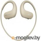 Mp3 Плеер - 4Gb Sony [NW-WS413C] <Creme> Bluetooth, Водонепроницаемый