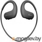Mp3 Плеер - 4Gb Sony [NW-WS413B] <Black> Bluetooth, Водонепроницаемый