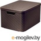 Ящик для хранения Curver Style L 03619-210-00 / 205861 (темно-коричневый)