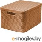 Ящик для хранения Curver Style L 03619-213-00 / 211540 (коричневый)