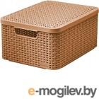 Корзинка Curver М Style 2 коричневая 03618-213-00