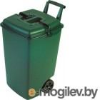 Контейнер для мусора Curver 04122-385-00 / 154907 (90 л, зеленый)