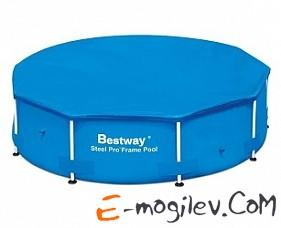 58037 BW, BestWay, Тент для каркасного бассейна 366см (d 366см), уп.6