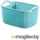 CURVER 03675-Х60-00 KNIT XS прямоугольная цвет серо-голубой