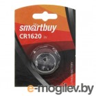 Smartbuy CR1620 3V, 1шт., 16.0 X 2.0 мм (SBBL-1620-1B)