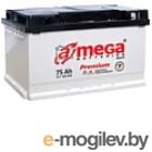 АКБ A-mega Premium 6СТ-75-А3 R low (75 А/ч)