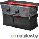 Сумка в багажник ТрендБай 1135 серый/красный