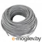 Кабель UTP cat 5E 100m solid (AWG24) CCA alloy grey (100м)