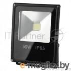 Прожекторы, светильники для уличного освещения ЭРА 50W LPR-50-6500К-М  черный {Прожектор светодиодный  50W, 6500К}