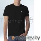 Футболка Hi-Black черная с лого (2XL)