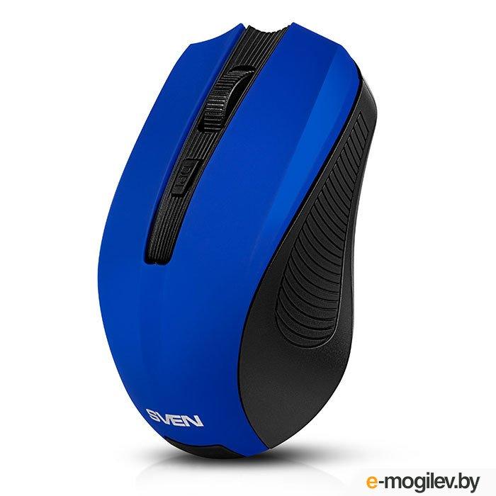 Мышь Sven RX-345 Wireless Blue SV-014162