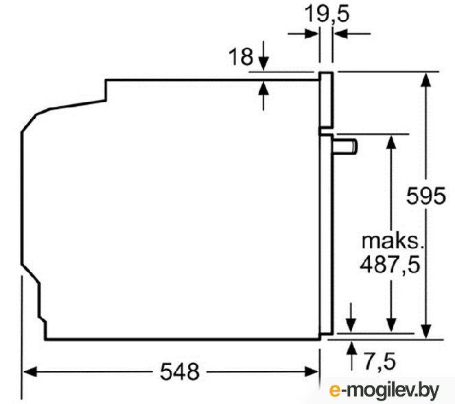 Духовой шкаф HBG 633NB1