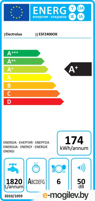 ELECTROLUX ESF2400OK
