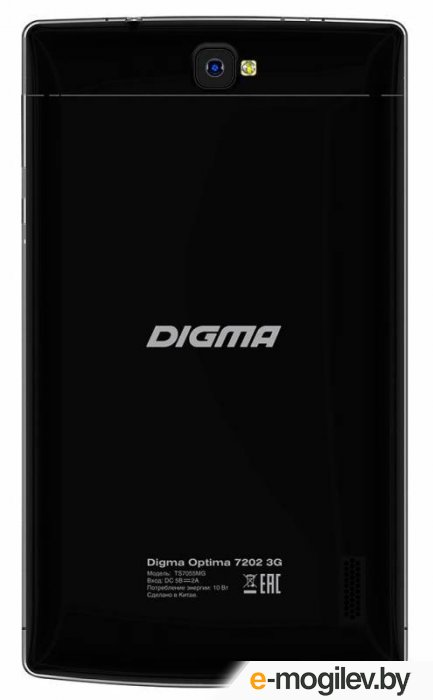 Digma Optima 7202 8GB 3G (TS7055MG) черный
