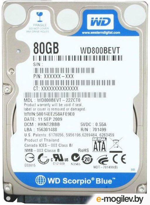 Western Digital WD800BEVT RF
