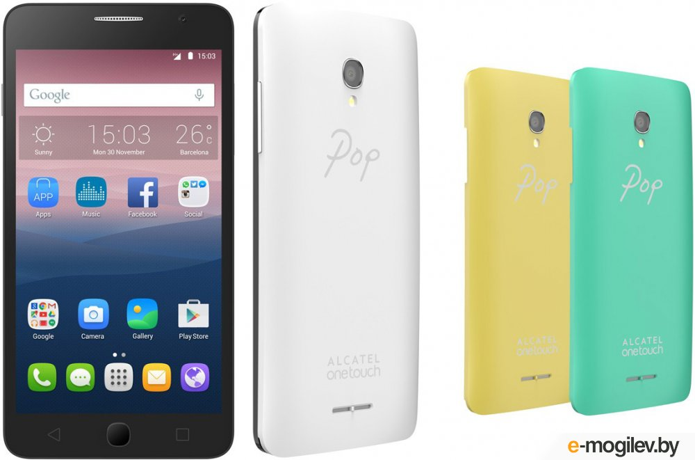 смартфон alcatel one touch pop star 5022d