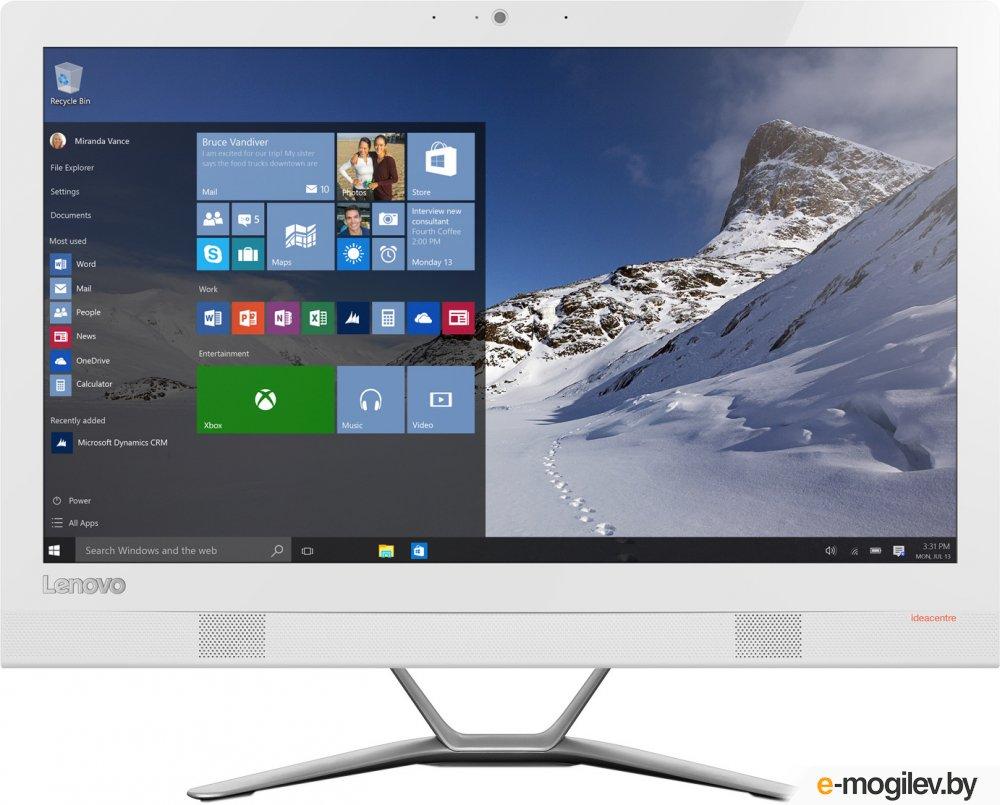 "Lenovo IdeaCentre 300-23ISU 23"" Full HD i5 6200U/4Gb/1Tb 7.2k/DVDRW/Free DOS/GbitEth/WiFi/BT/клавиатура/мышь/Cam/белый 1920x1080"