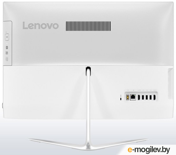 "Lenovo IdeaCentre 510-23ISH 23"" Full HD i5 7400T/4Gb/1Tb 7.2k/GF940M 2Gb/DVDRW/Windows 10/GbitEth/WiFi/BT/клавиатура/мышь/Cam/белый 1920x1080"