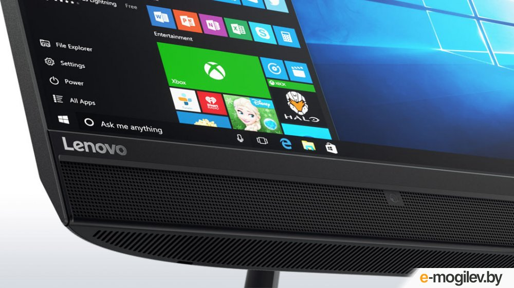"Lenovo IdeaCentre 510-23ISH 23"" Full HD i5 7400T/4Gb/1Tb 7.2k/GF940M 2Gb/DVDRW/Windows 10/GbitEth/WiFi/BT/клавиатура/мышь/Cam/черный 1920x1080"
