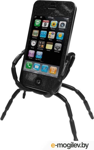 Держатель для мобильного устройства CBR Держатель мобильного телефонапланшета Human Friends Spider Black, Spider Black