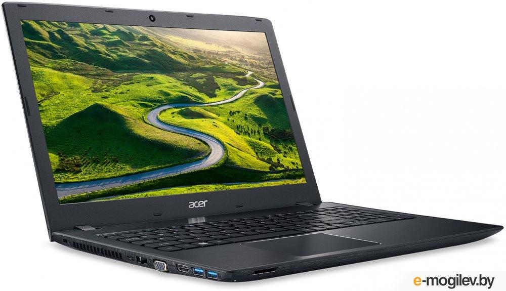 """Acer Aspire E5-575G-33J0 Core i3 6006U/4Gb/500Gb/DVD-RW/nVidia GeForce 940MX 2Gb/15.6""""/HD (1366x768)/Windows 10/black/WiFi/BT/Cam/2800mAh"""