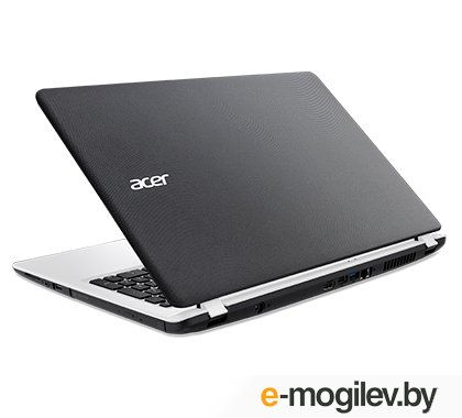 Acer Aspire ES1-533-P3TP Pentium N4200/4Gb/SSD128Gb/Intel HD Graphics 505/15.6/FHD (1920x1080)/Windows 10/black/white/WiFi/BT/Cam/3220mAh