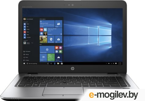 "Ноутбук HP EliteBook 840 G3 (Z2V48EA) 14""(1920x1080)/Intel Core i5 7200U(2.5Ghz)/8192Mb/256SSDGb/noDVD/Int:Intel HD Graphics 620/Cam/BT/WiFi/45WHr/war 3y/1.46kg/silver/black metal/W10Pro"