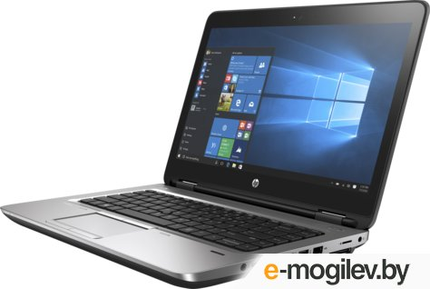"HP ProBook 640 G3 14""(1366x768)/Intel Core i5 7200U(2.5Ghz)/4096Mb/500Gb/DVDrw/Int:Intel HD Graphics 620/Cam/BT/WiFi/48WHr/war 1y/1.95kg/silver/black/W10Pro (Z2W37EA)"