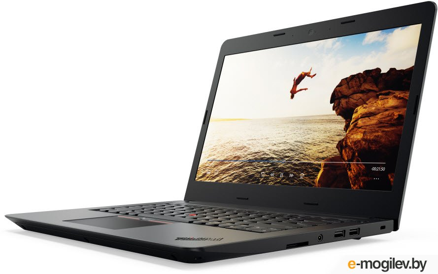 "Lenovo ThinkPad Edge 470 14""(1920x1080 IPS)/Intel Core i5 7200U(2.5Ghz)/8192Mb/1000Gb/noDVD/Int:Intel HD Graphics 620/Cam/BT/WiFi/45WHr/war 1y/1.87kg/black/W10Pro (20H1S03M00)"