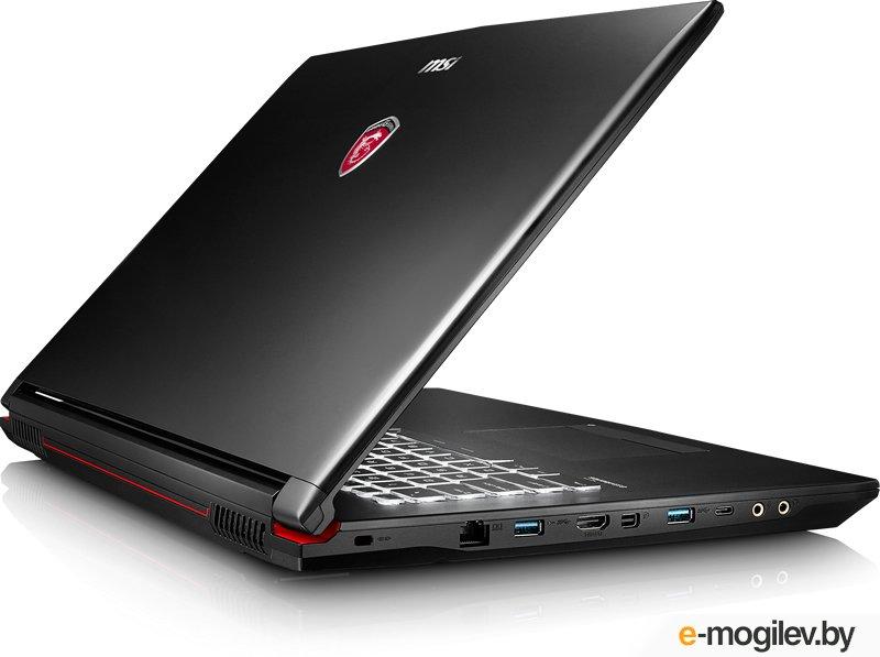 """MSI GP72 7RDX(Leopard)-484RU Core i7 7700HQ/8Gb/1Tb/DVD-RW/nVidia GeForce GTX 1050 2Gb/17.3""""/TN/FHD (1920x1080)/Windows 10 64/black/WiFi/BT/Cam (9S7-1799B3-484)"""
