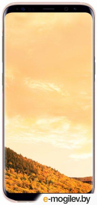 Чехол (клип-кейс) Samsung для Samsung Galaxy S8 Clear Cover розовый/прозрачный (EF-QG950CPEGRU)