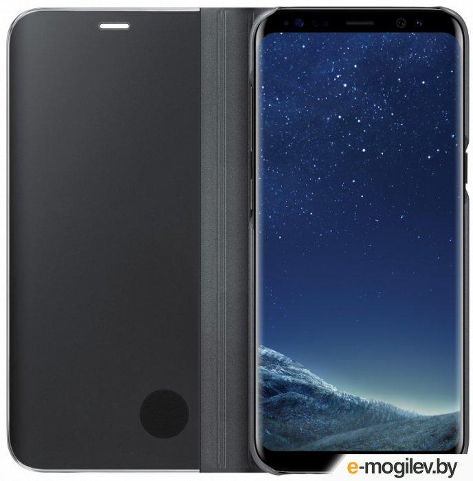 Чехол (флип-кейс) Samsung для Samsung Galaxy S8 Clear View Standing Cover черный (EF-ZG950CBEGRU)