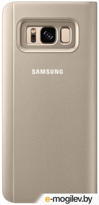 Чехол (флип-кейс) Samsung для Samsung Galaxy S8 Clear View Standing Cover золотистый (EF-ZG950CFEGRU)