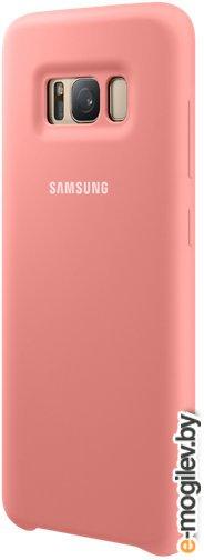 Чехол (клип-кейс) Samsung для Samsung Galaxy S8 Silicone Cover розовый (EF-PG950TPEGRU)