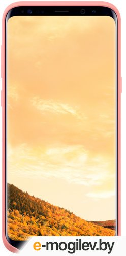 Чехол (клип-кейс) Samsung для Samsung Galaxy S8+ Silicone Cover розовый (EF-PG955TPEGRU)