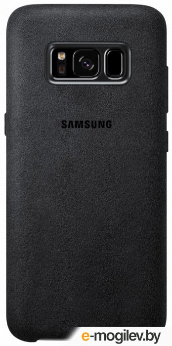 Чехол (клип-кейс) Samsung для Samsung Galaxy S8 Alcantara Cover темно-серый (EF-XG950ASEGRU)
