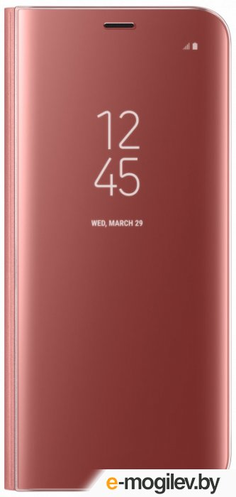 Чехол (флип-кейс) Samsung для Samsung Galaxy S8 Clear View Standing Cover розовый (EF-ZG950CPEGRU)