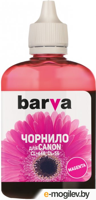 Чернила BARVA (C446-439) для CANON E404/MG2440/IP2840, 90мл, <Magenta>