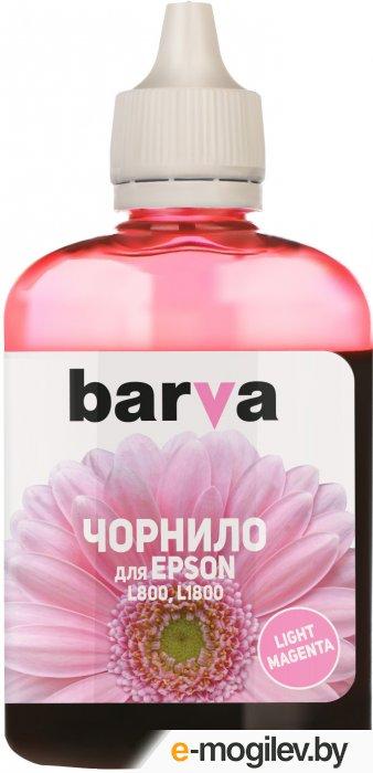 Чернила BARVA (L800-418) для Epson L800/L810/L850/L1800, 90мл, <Light Magenta>