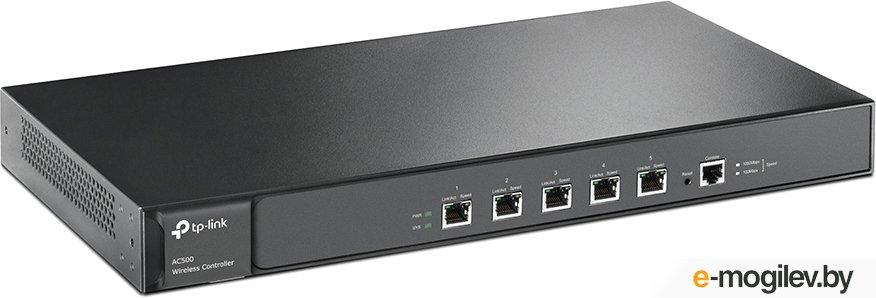 Маршрутизатор TP-Link AC500 Wi-Fi контроллер, управление до 500 потолочными точками доступа, автоматическое обнаружение точек доступа и объединённая настройка, централизованное управление, портал аутентификации, соответствие SSID - VLAN, балансировка нагр