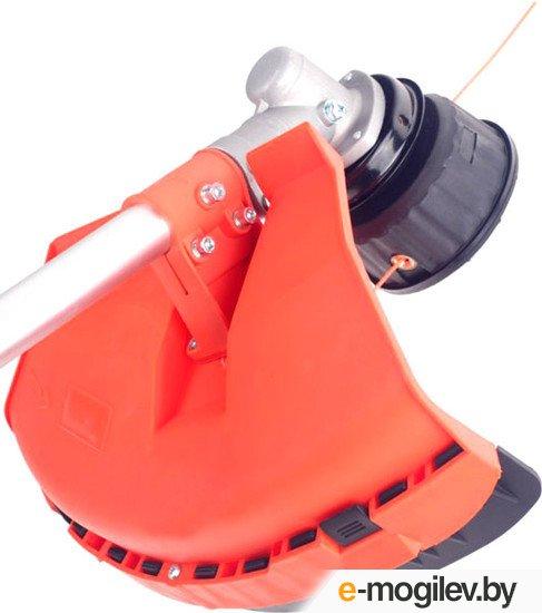 Бензотриммер PATRIOT PT 415 (1+1) [250106240] {4-ТАКТНЫЙ двигатель, раб.объем 31сс, 1.3 л.с., полуавтоматическая катушка Comfort с быстрой заправкой, 3-х лопастной диск диаметром 25.5см, леска 2.4мм,