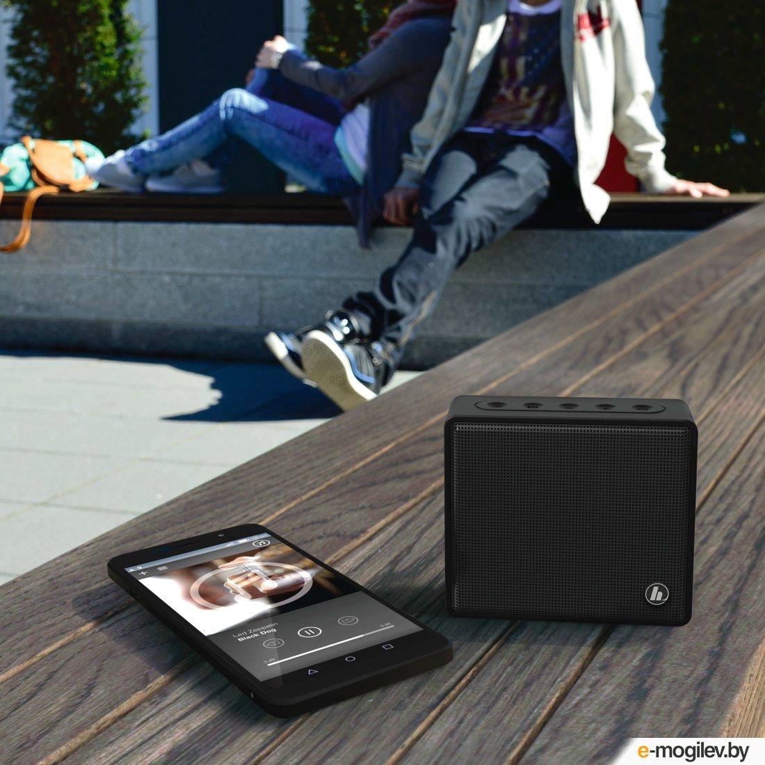 Hama Pocket черный 3W Mono BT/3.5Jack 10м 800mAh (00173120)