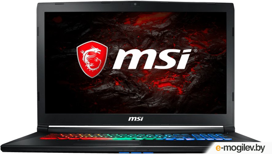 Ноутбук MSI GP72MVR 7RFX-635RU 9S7-179BC3-635 (Intel Core i7-7700HQ 2.8 GHz/8192Mb/1000Gb/nVidia GeForce GTX 1060 3072Mb/Wi-Fi/Bluetooth/Cam/17.3/1920x1080/Windows 10 64-bit)