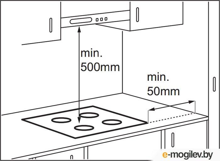 Электрическая варочная панель Electrolux EHF96546FK