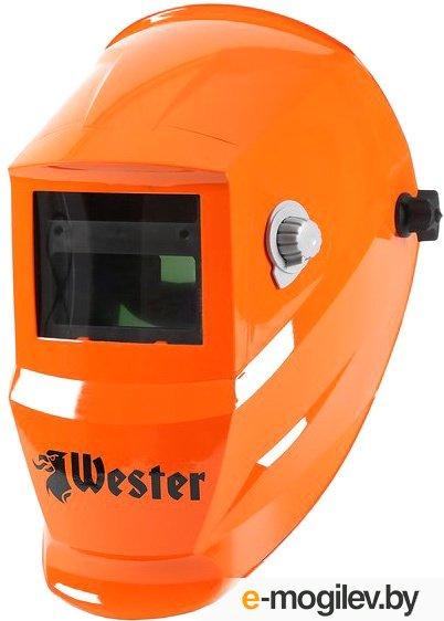 Маска сварочная WESTER WH7 990-024 Хамелеон, с регулировкой затемнения DIN 9-13
