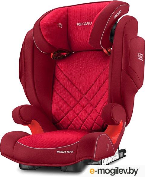автокресла Recaro Monza Nova 2 Seatfix Indy Red 6151.21505.66